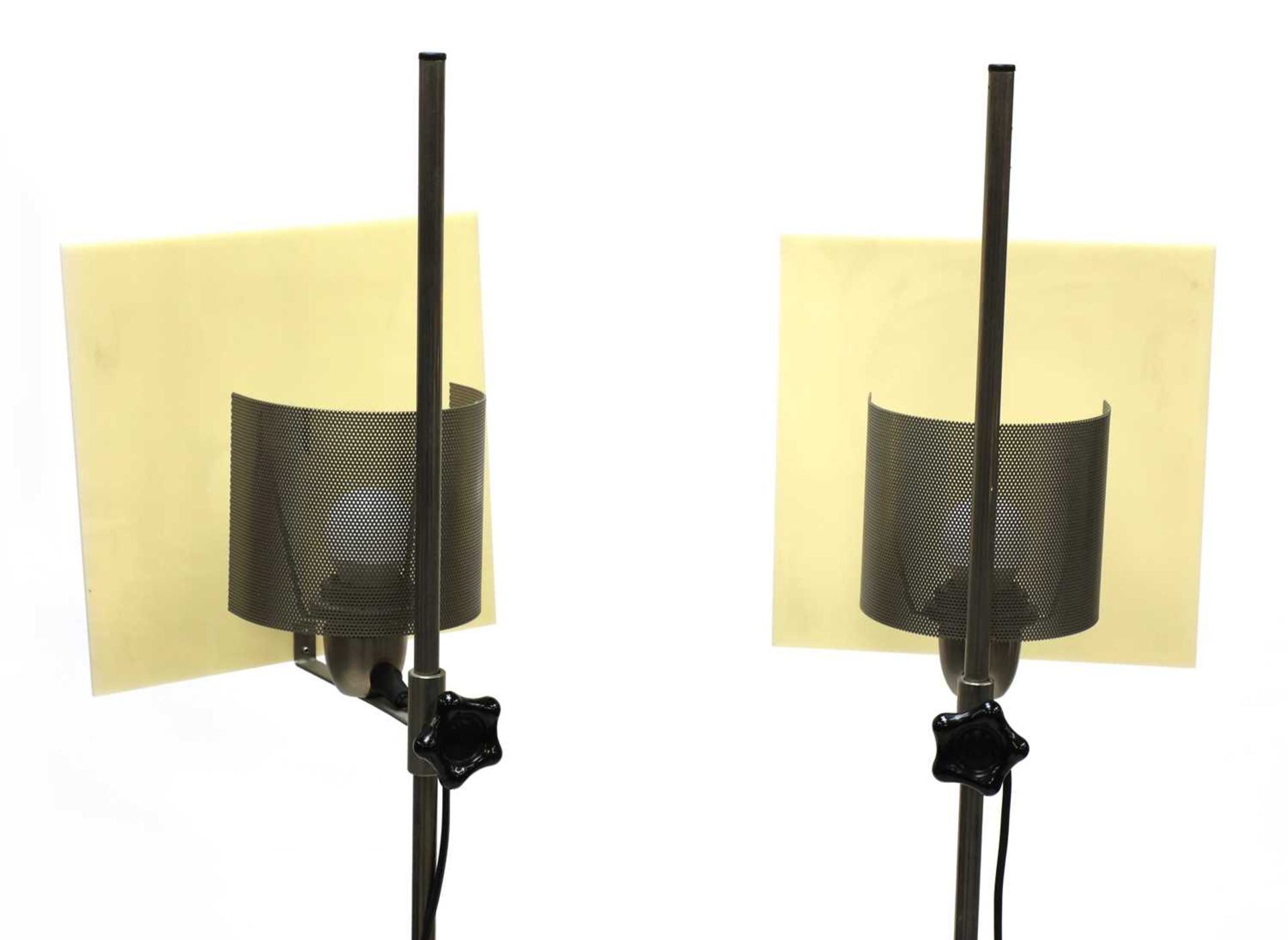 A pair of contemporary Habitat standard lamps, - Image 2 of 2