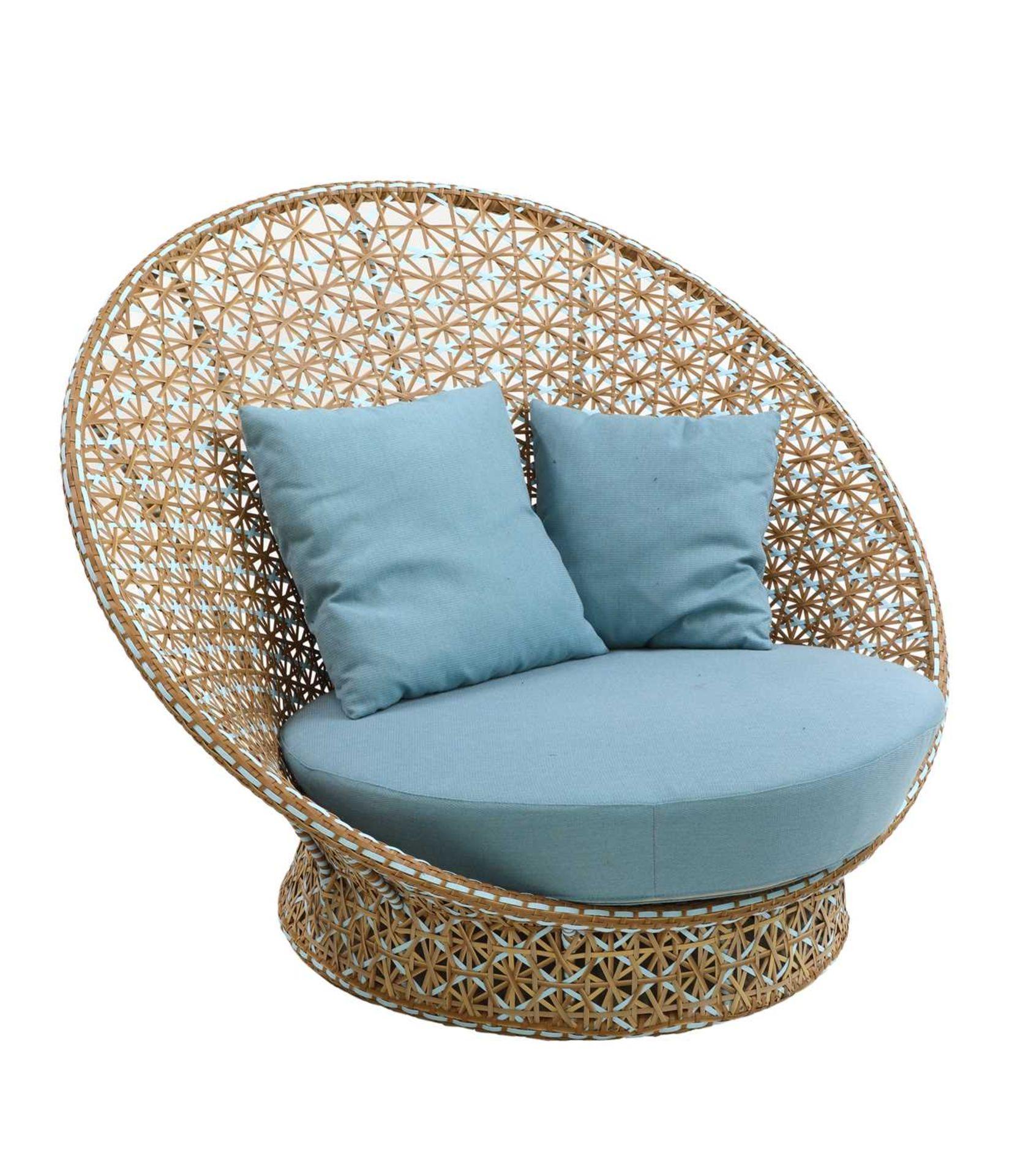 A 'peacock' chair,