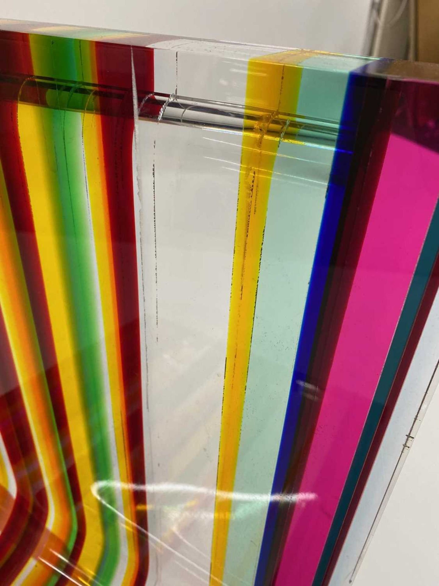 A 'Rainbow Chair', - Image 12 of 15