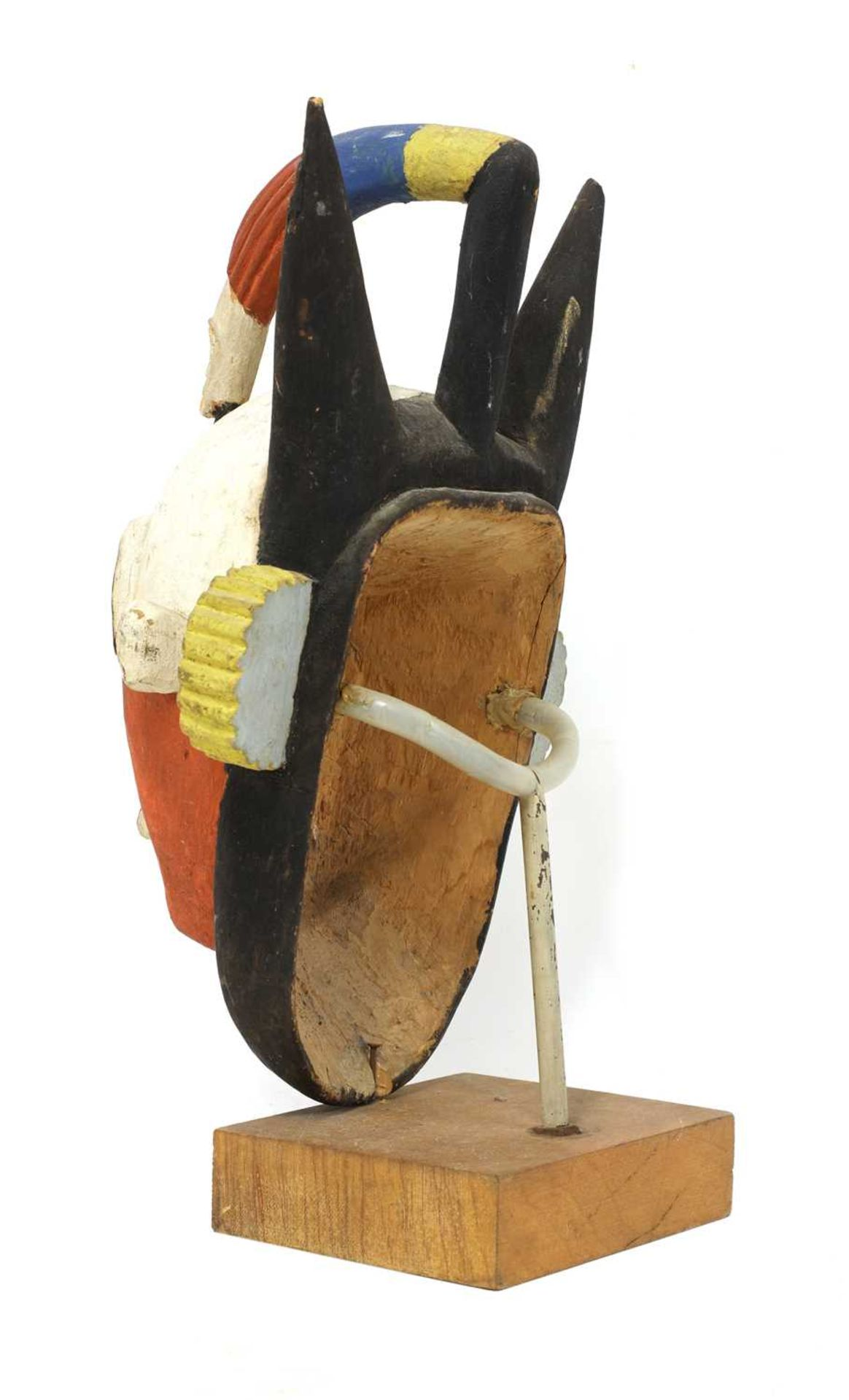 An African tribal mask, - Image 2 of 3