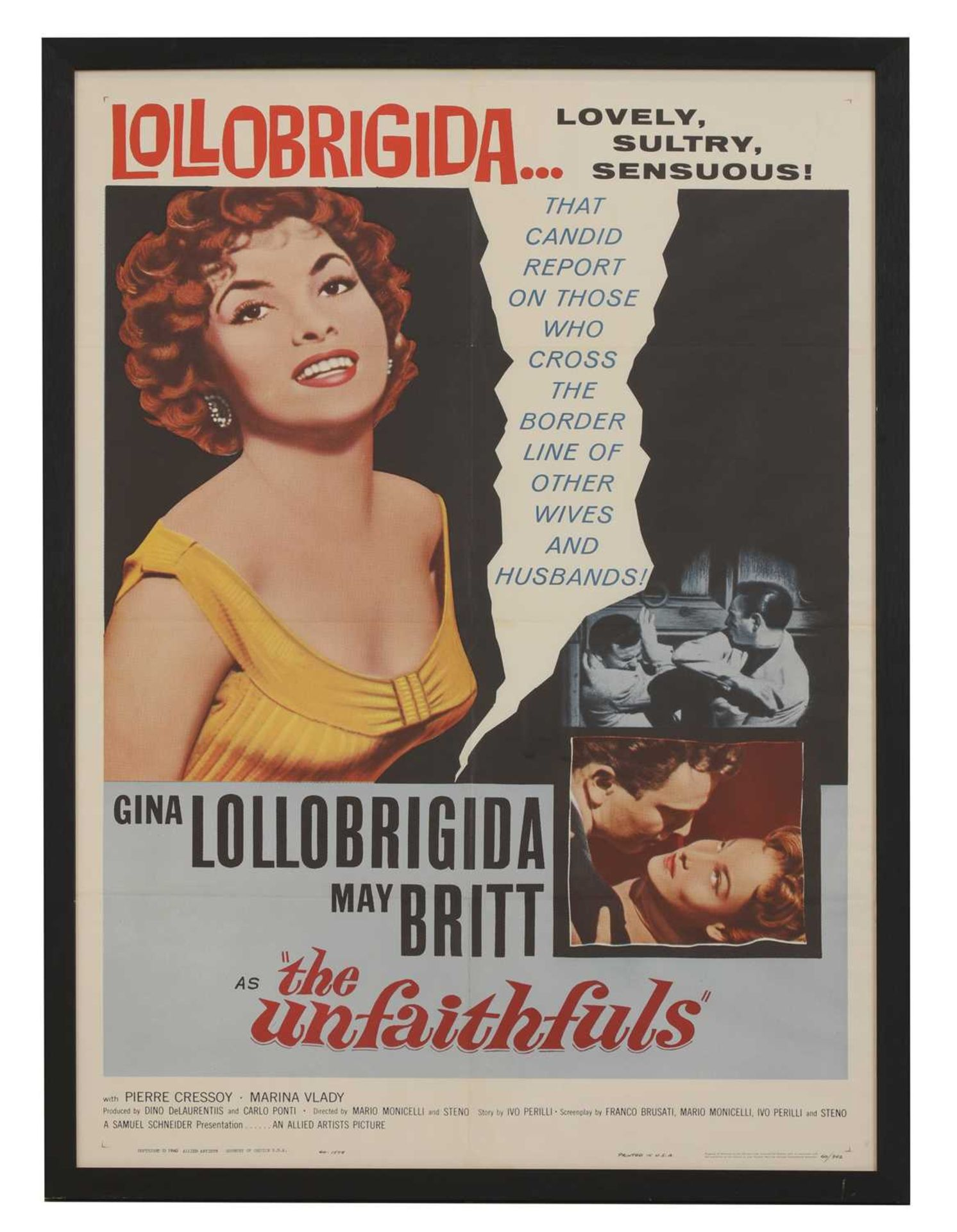 A film poster for 'The Unfaithfuls',