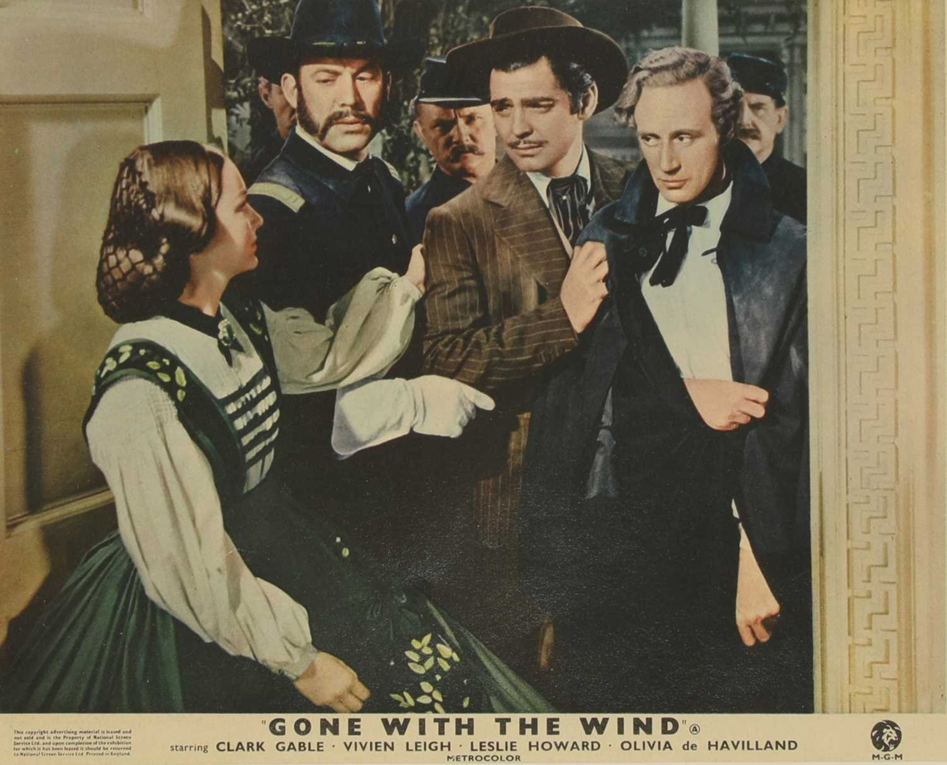Four studio cards from 'Gone With the Wind', - Image 4 of 12