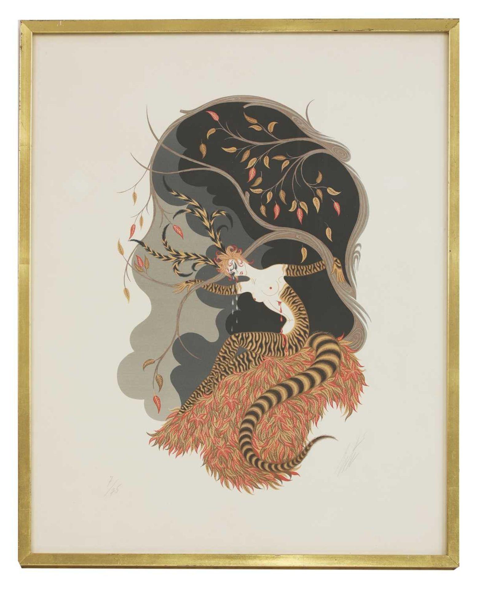 *'Erte' (Romain de Tirtoff) (Russian-French, 1892-1990) - Image 3 of 4