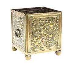 An Aesthetic brass bough pot,