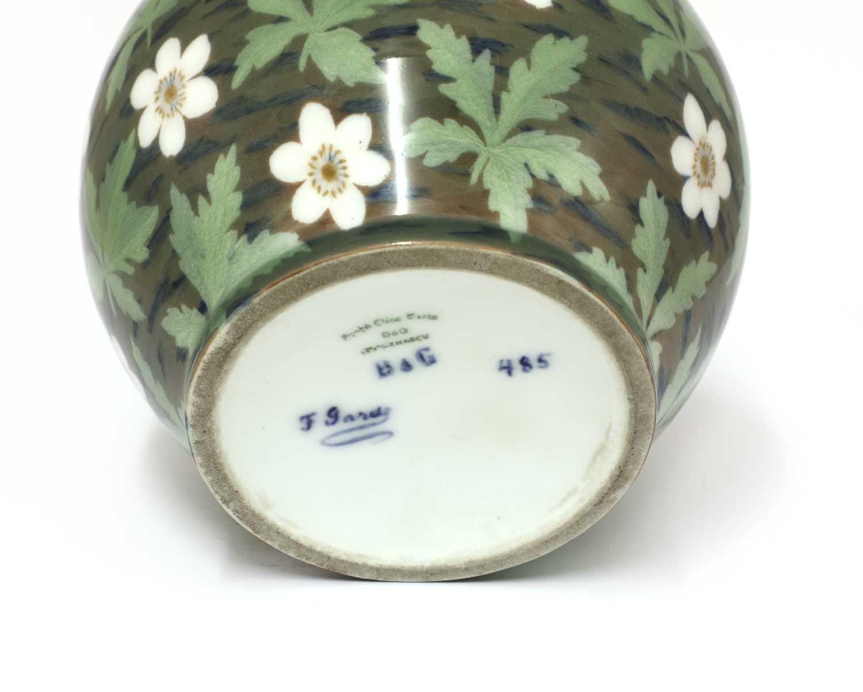 A Bing & Grøndahl porcelain vase, - Image 3 of 3