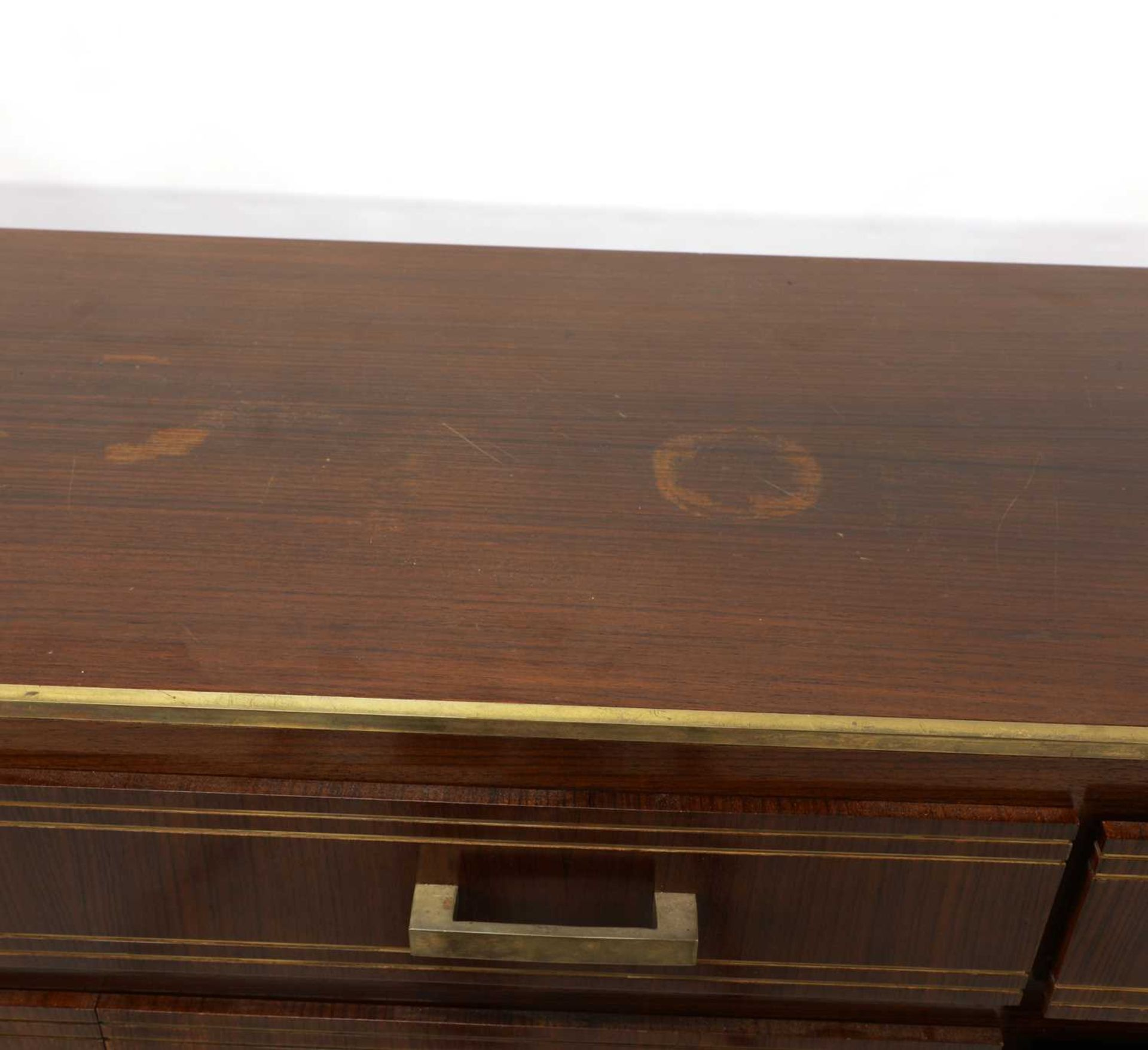 An Indian rosewood dining suite, - Image 7 of 10