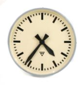 A Pragotron wall clock,