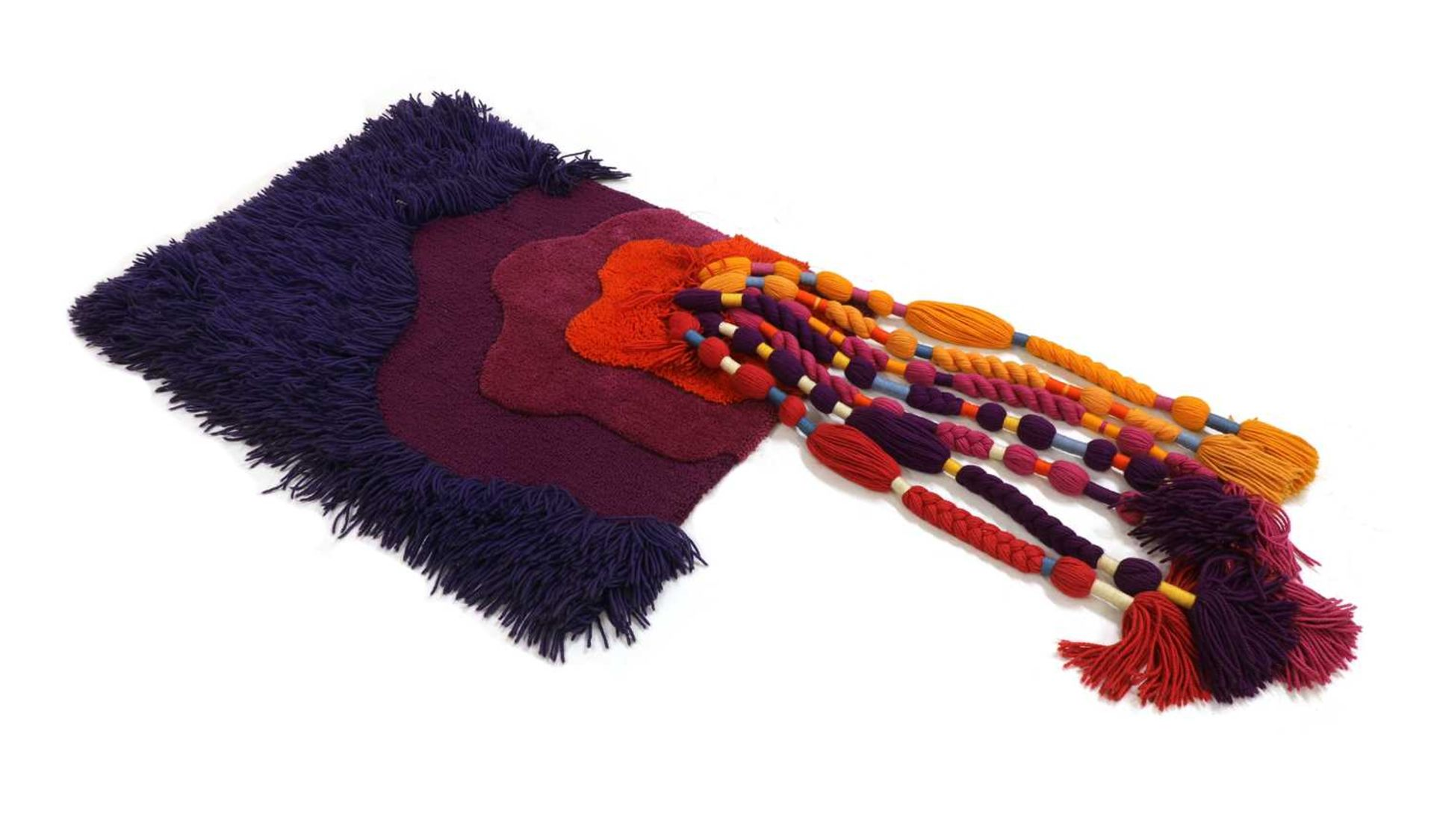 *A woolwork hanging,