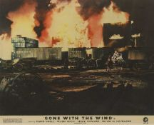 Four studio cards from 'Gone With the Wind',