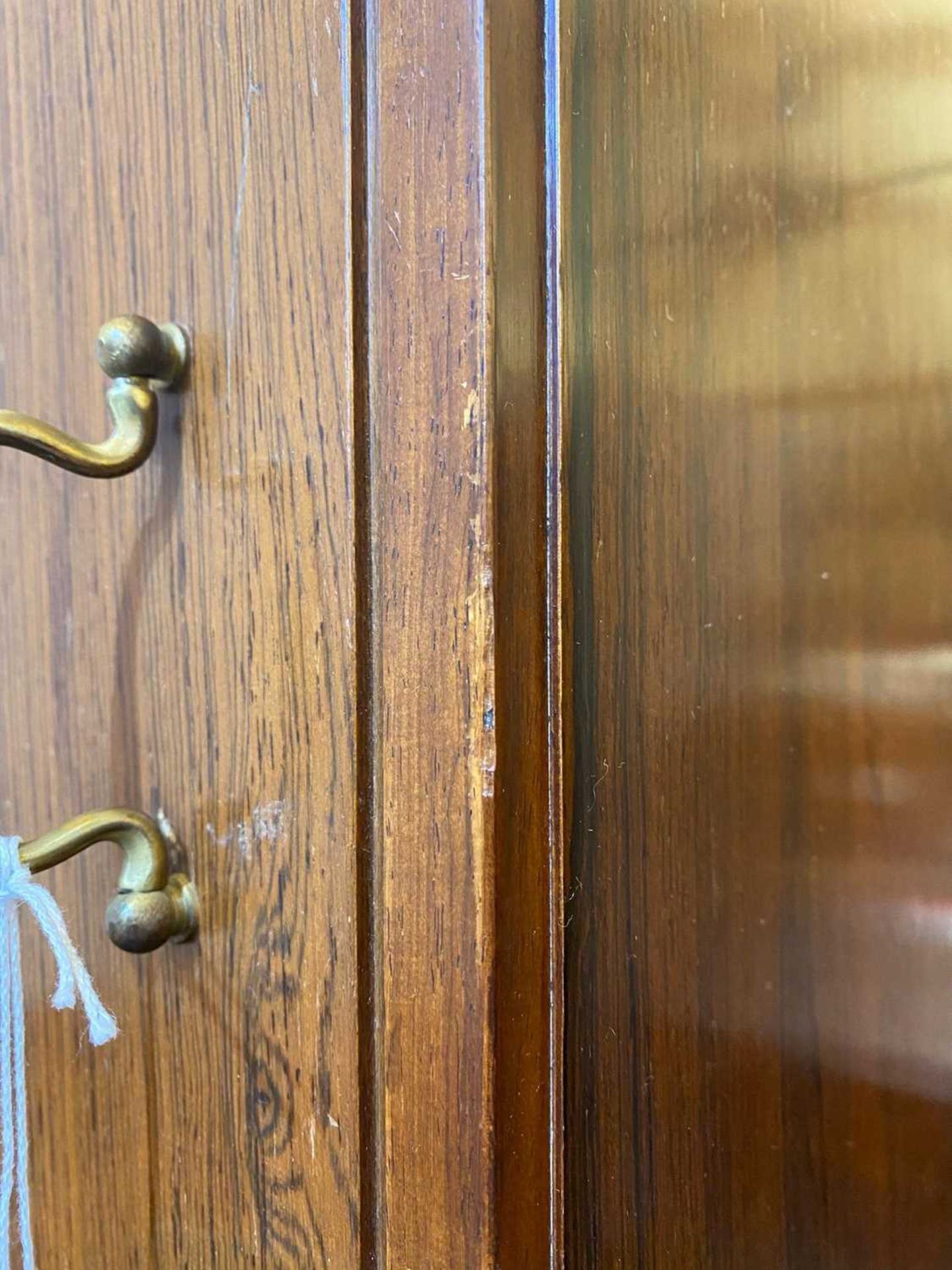 A rosewood wall cabinet, § - Image 8 of 10