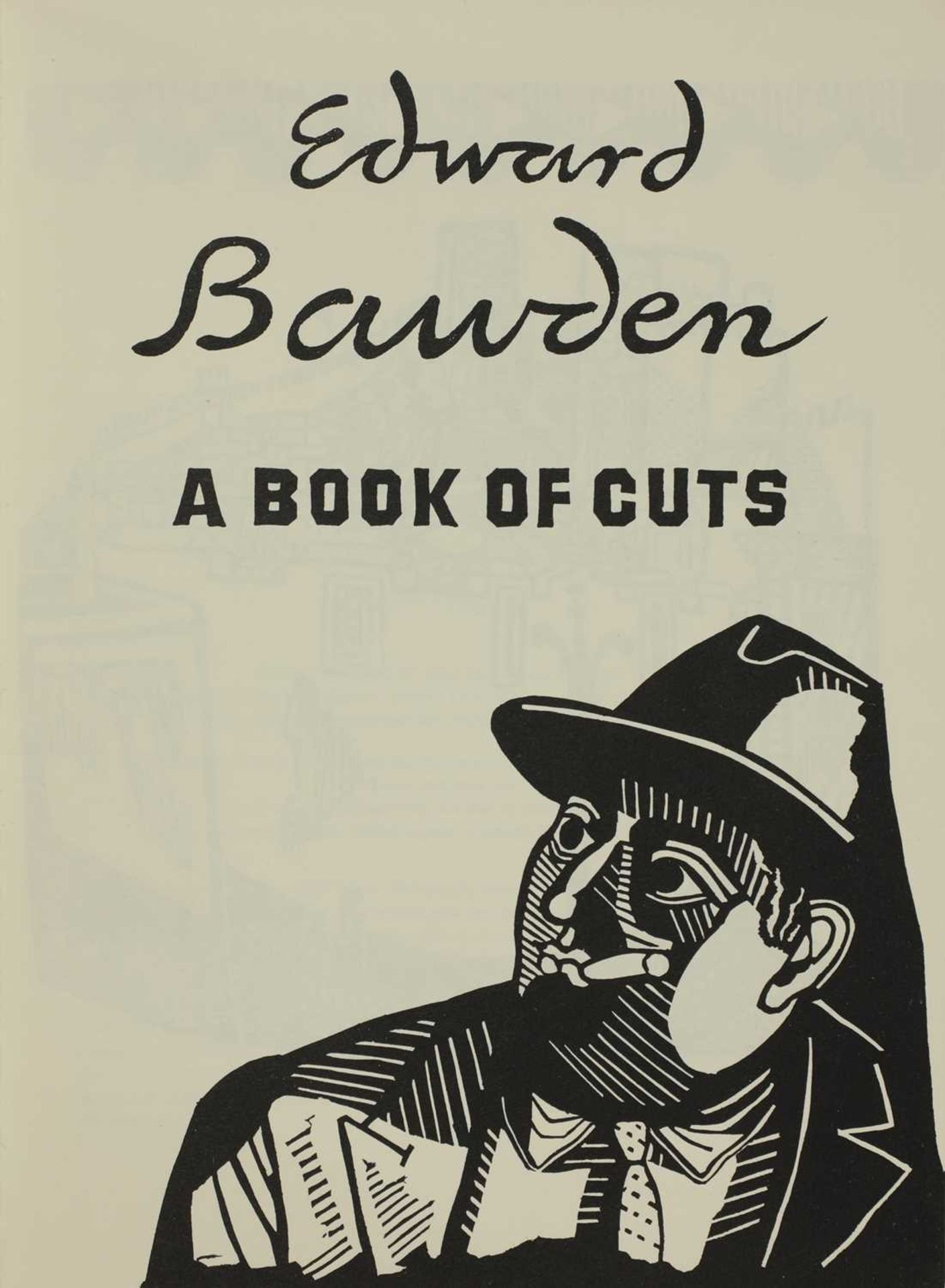 'Edward Bawden' by Douglas Percy Bliss, - Image 2 of 5