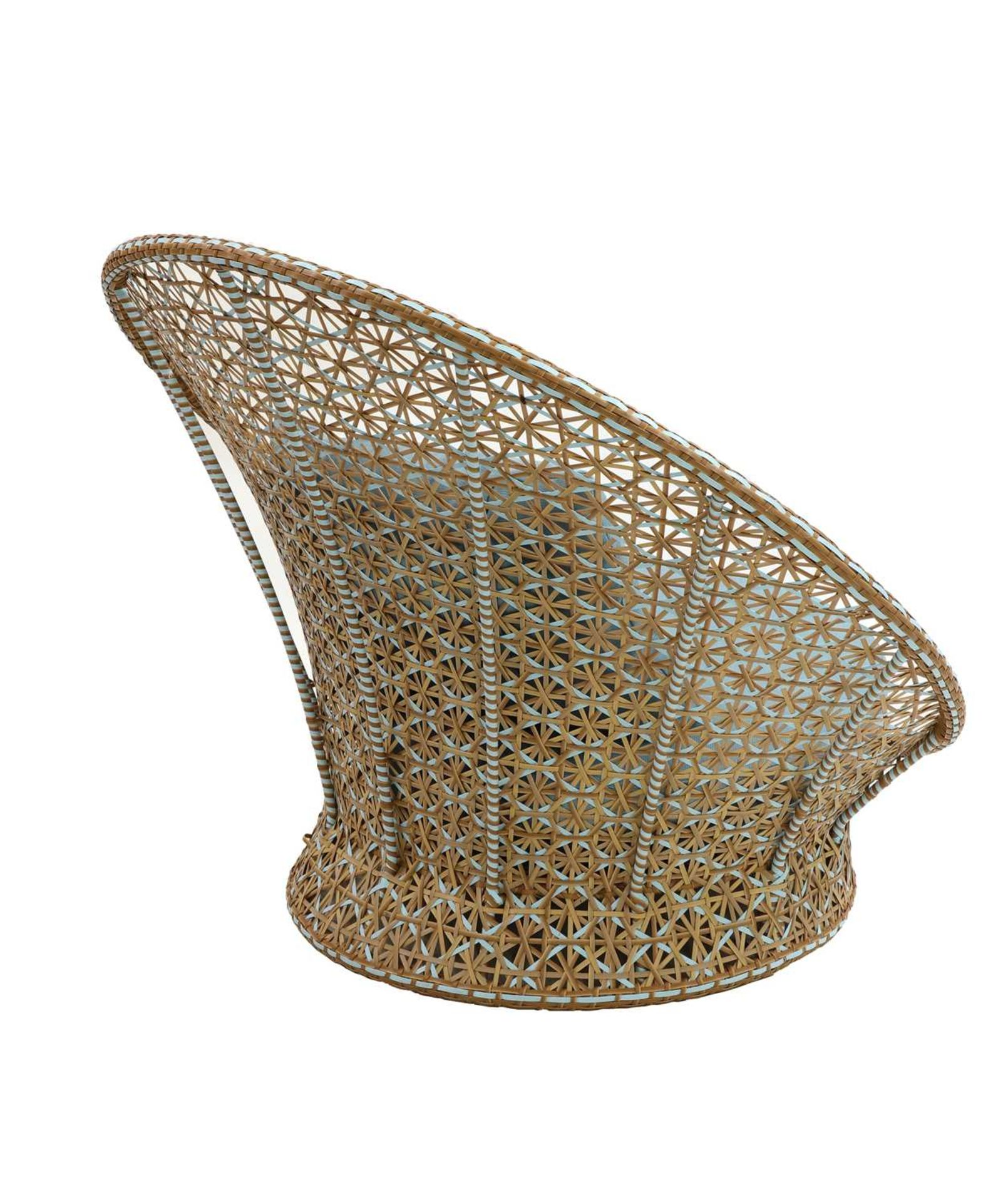 A 'peacock' chair, - Image 4 of 4