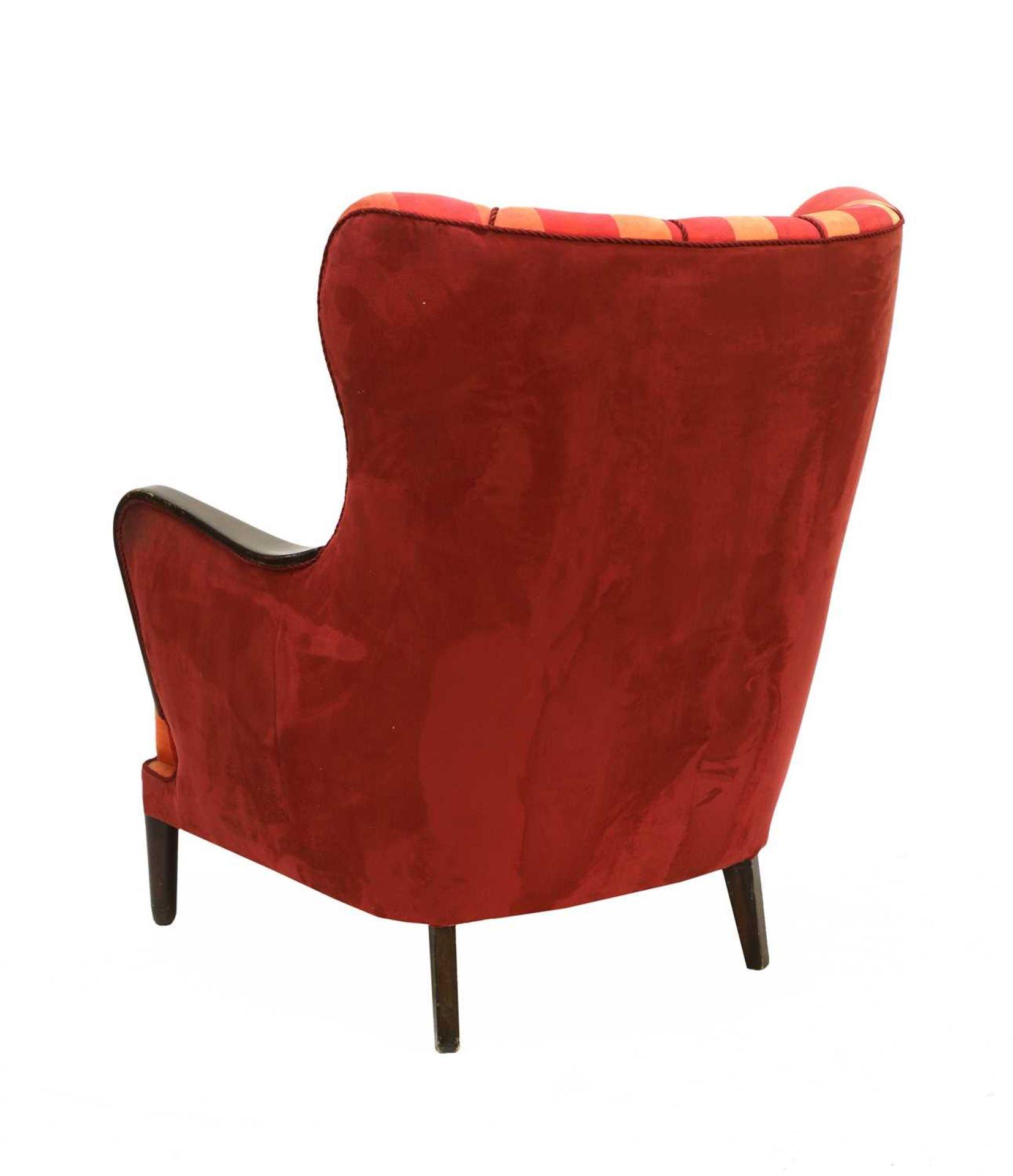 A Danish armchair, - Image 2 of 3