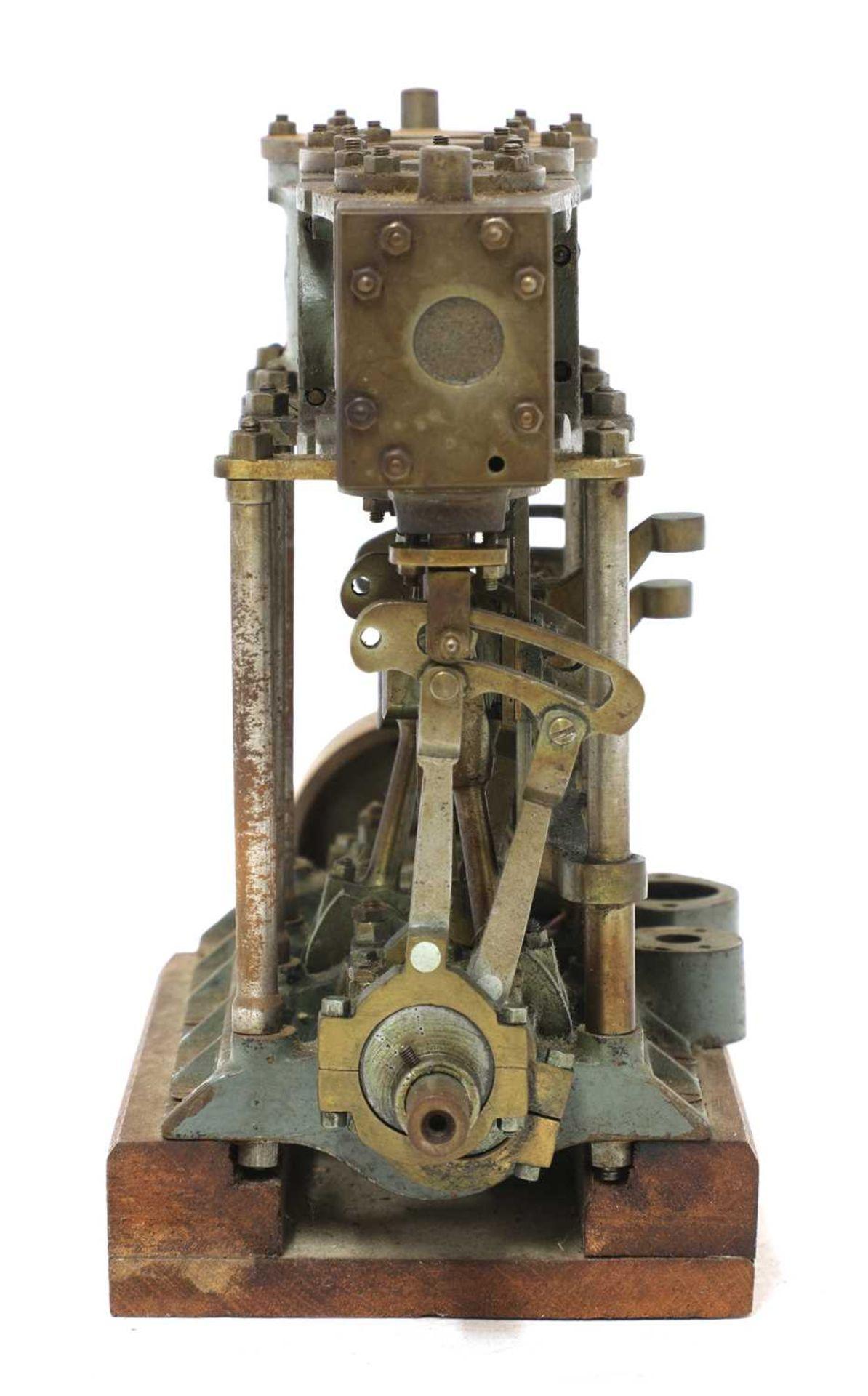 A model of a Stuart Turner triple expansion engine, - Image 2 of 3
