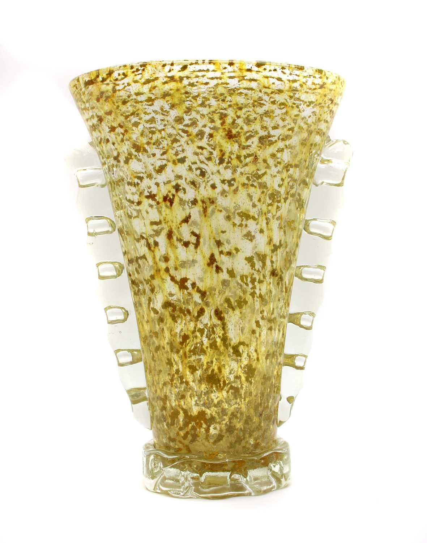 A Murano glass vase,