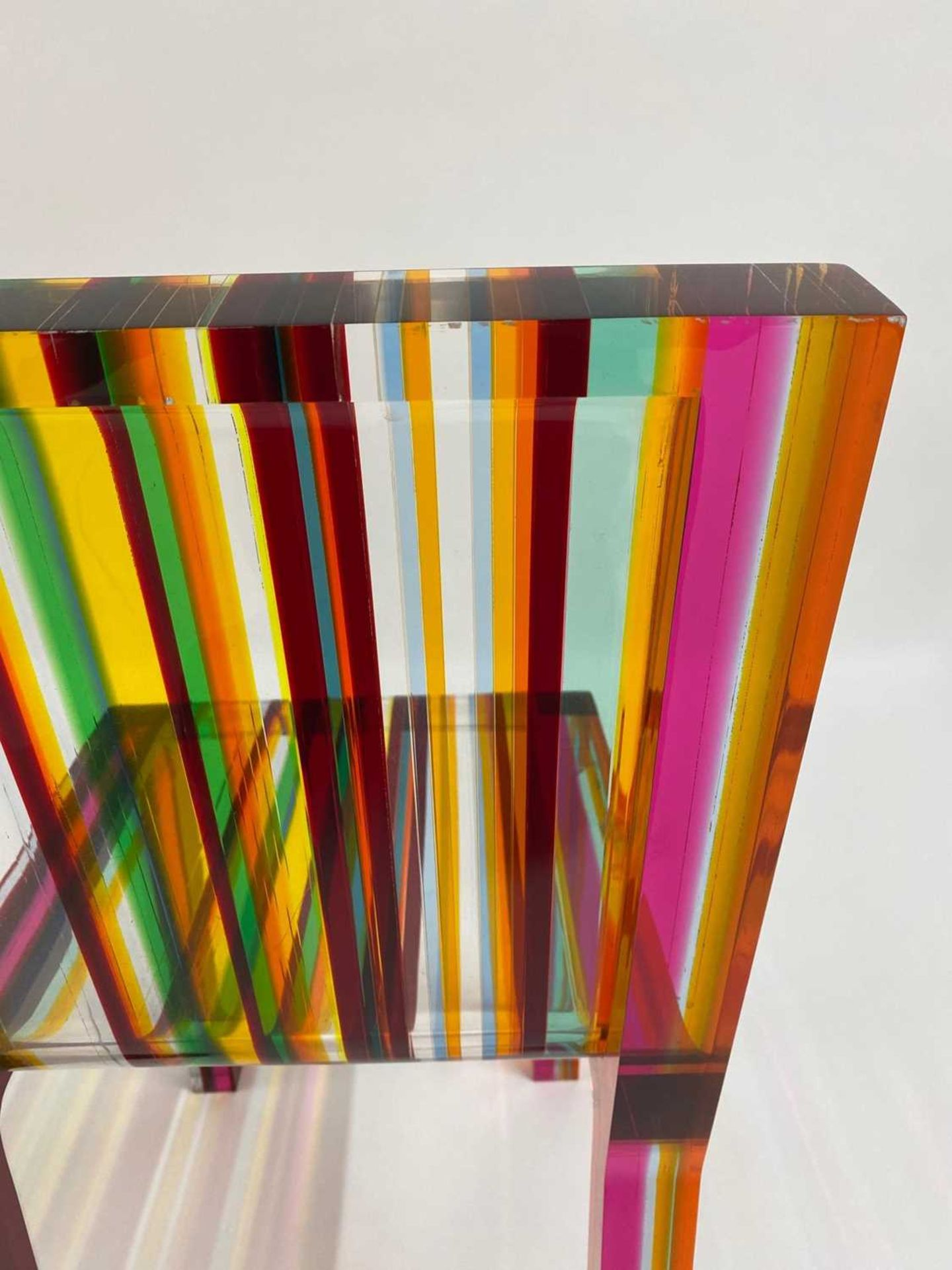 A 'Rainbow Chair', - Image 10 of 15