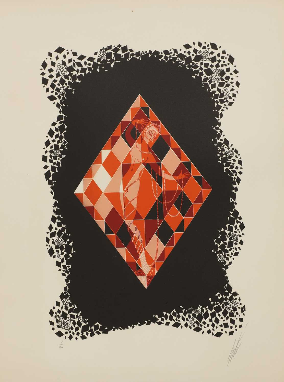 *'Erte' (Romain de Tirtoff) (Russian-French, 1892-1990) - Image 2 of 4