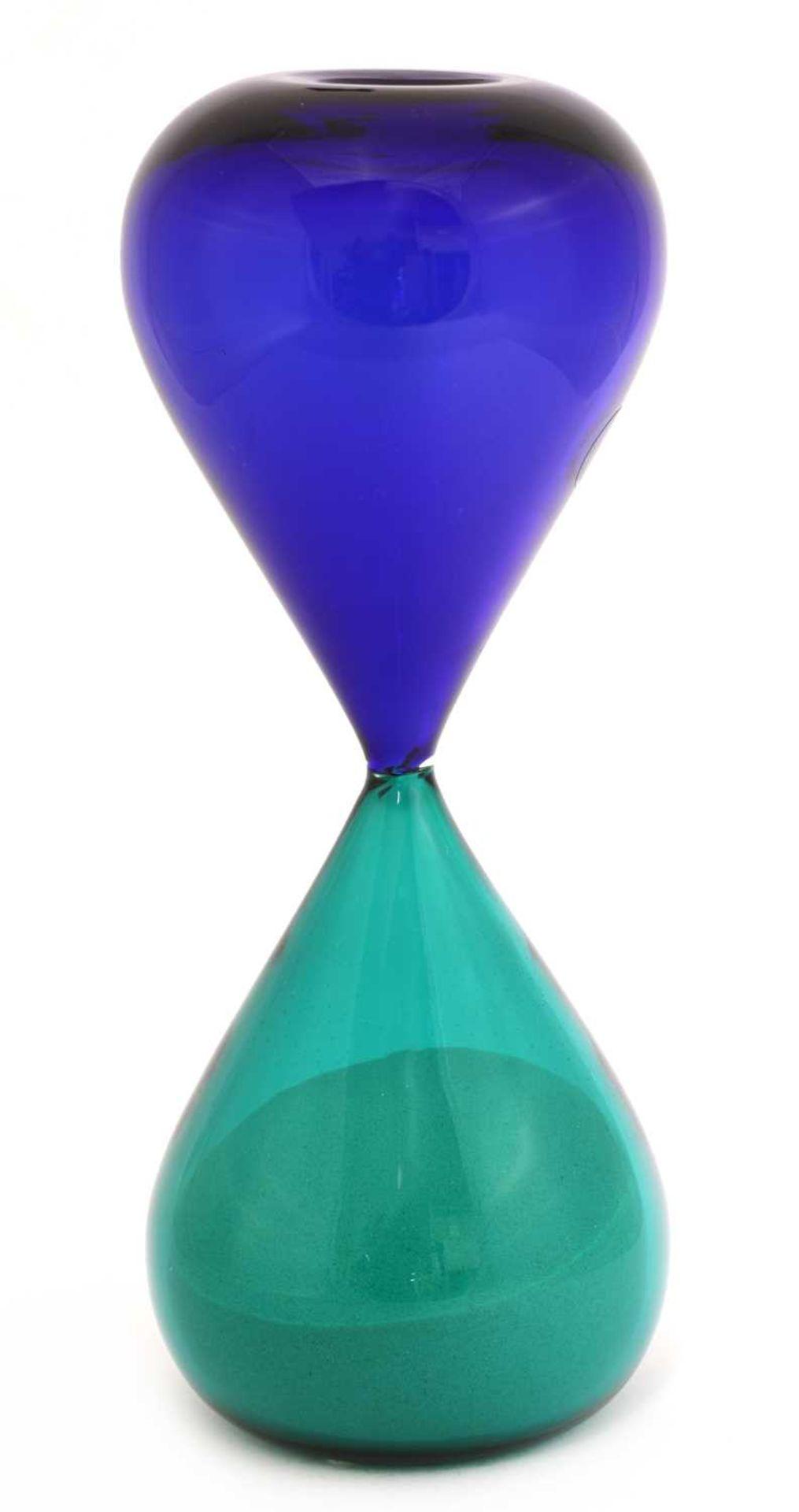 A Venini 'Clessidre' hourglass,