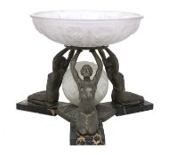 A French Art Deco centrepiece,