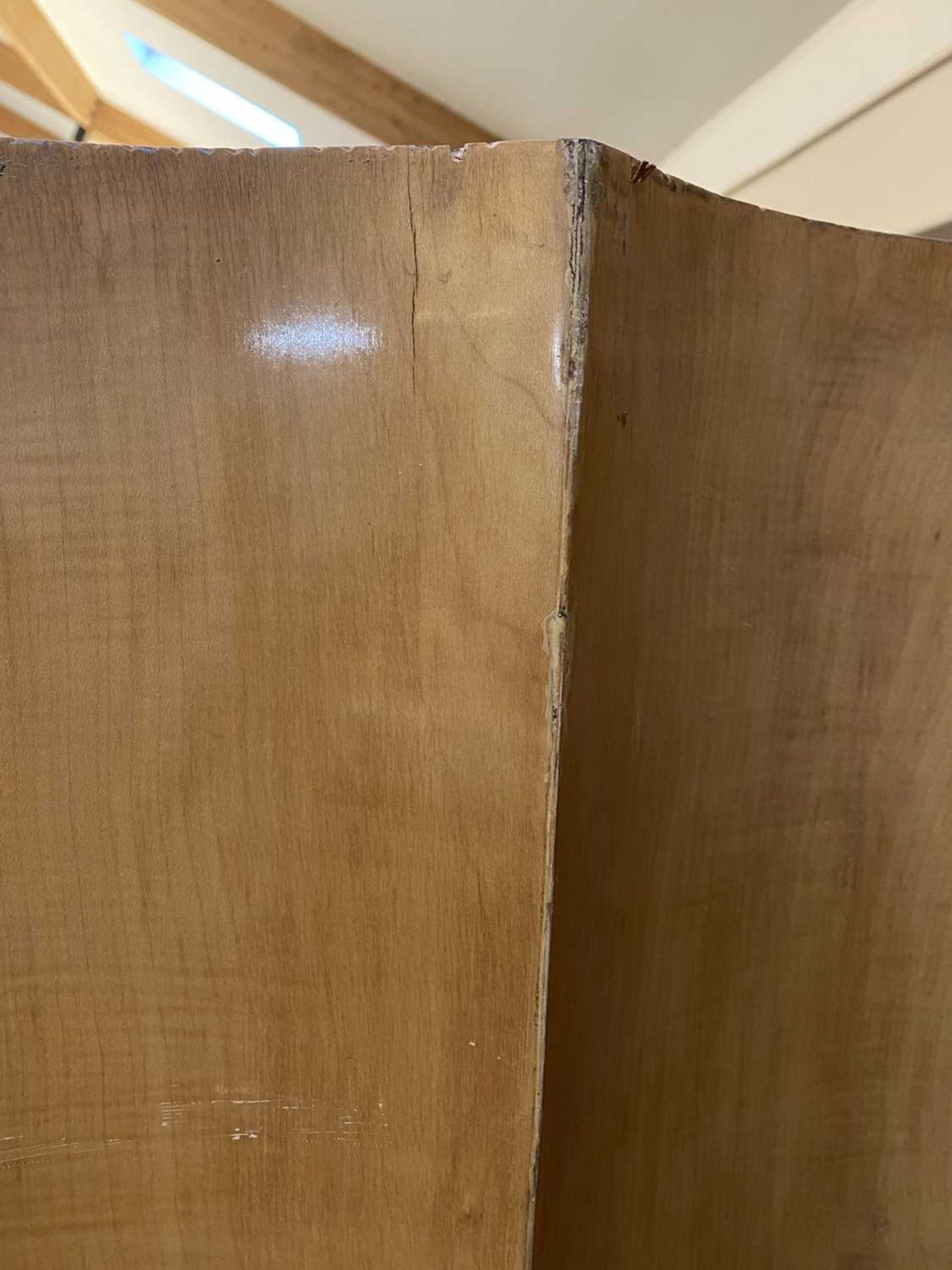 An Art Deco burr walnut and maple bedroom suite, - Image 43 of 45