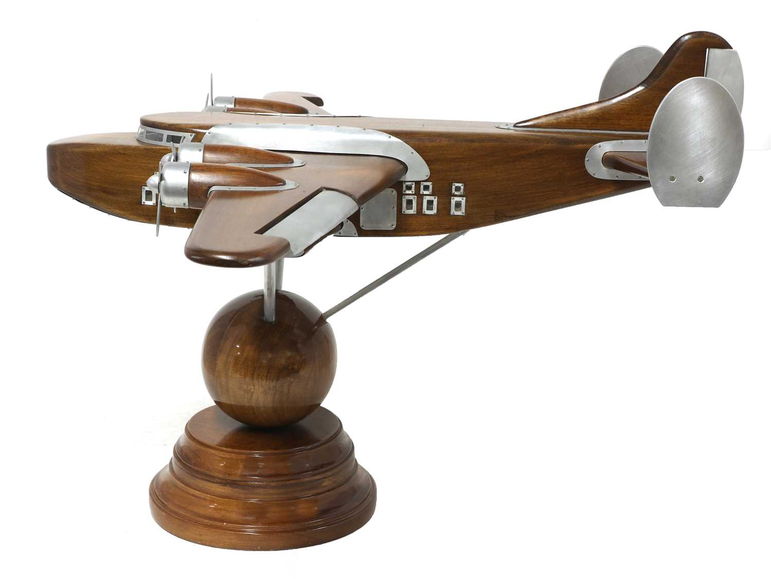 A model of a Pan American Boeing 314 Clipper floatplane, - Image 3 of 5
