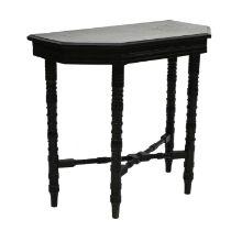 An Aesthetic ebonised side table,