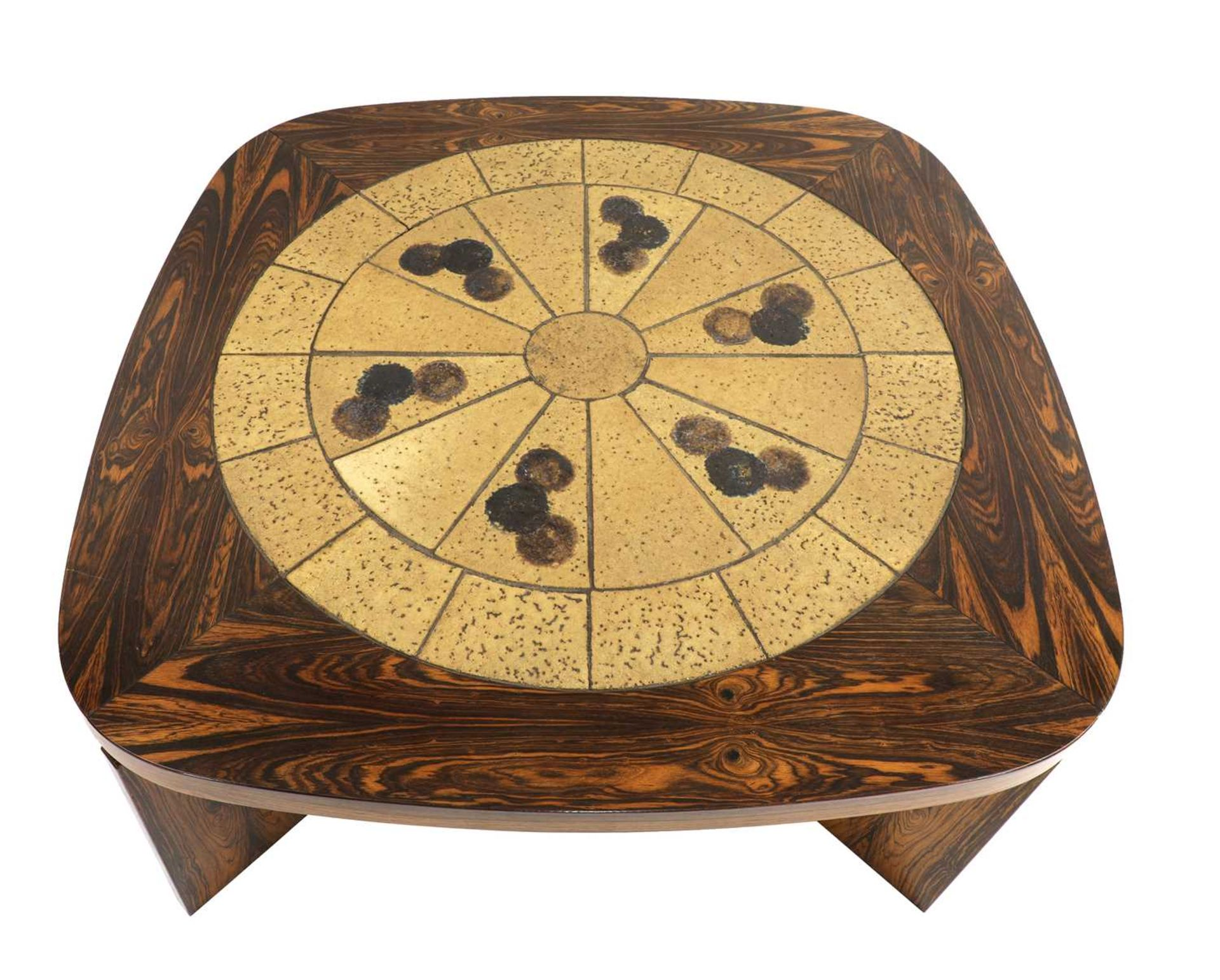 A Danish rosewood brutalist coffee table, § - Image 4 of 4