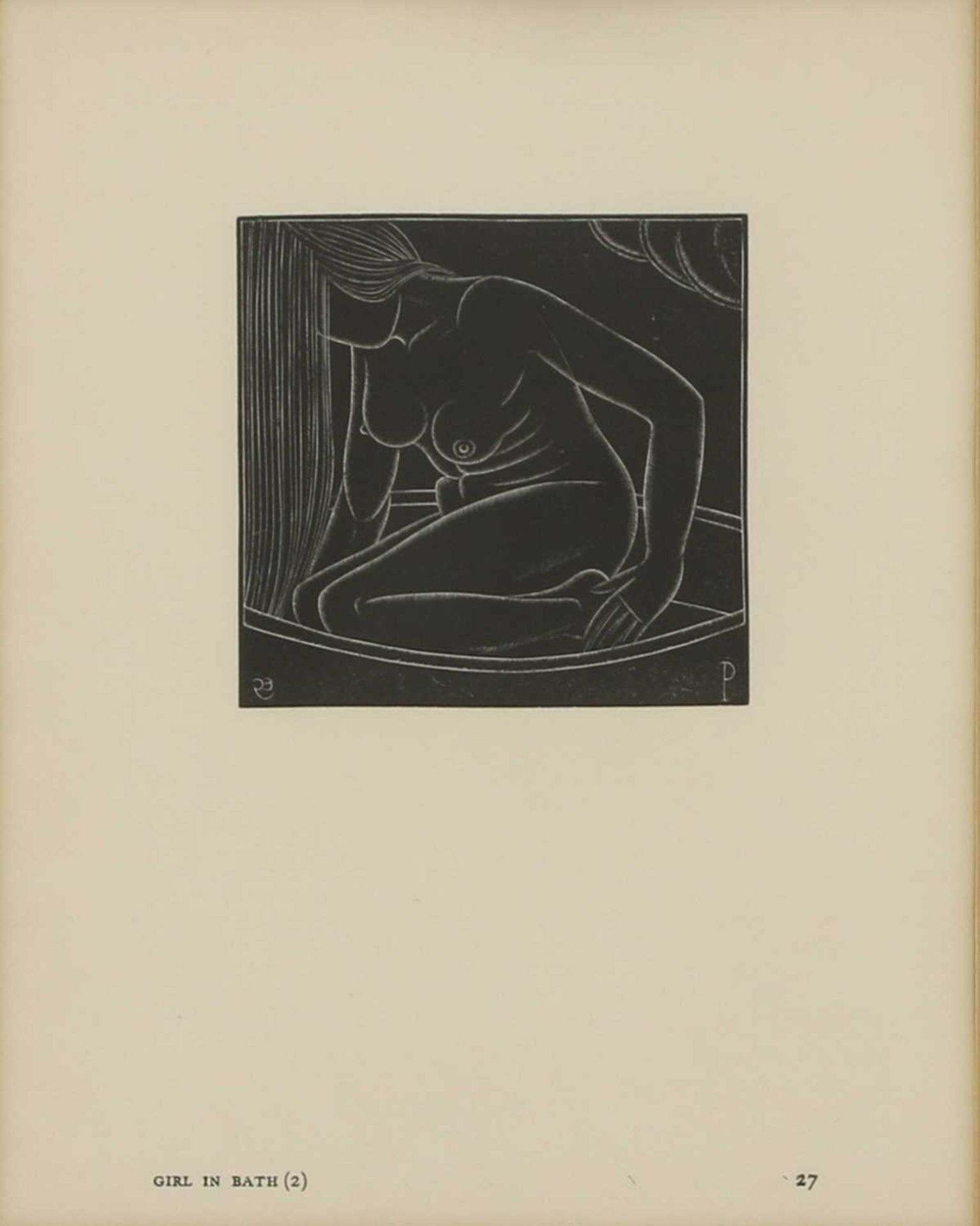 Eric Gill (1882-1940) - Image 3 of 4