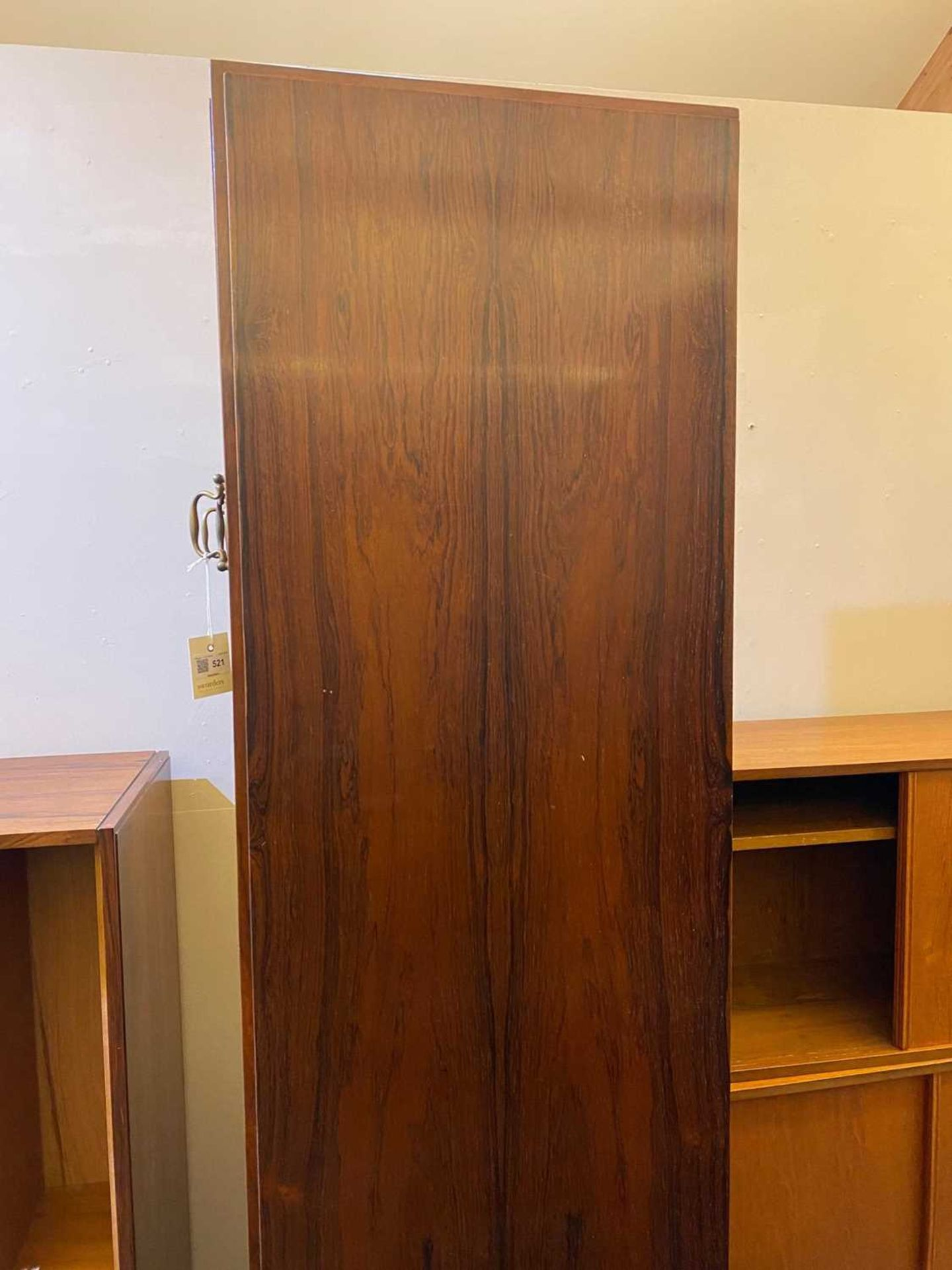A rosewood wall cabinet, § - Image 5 of 10