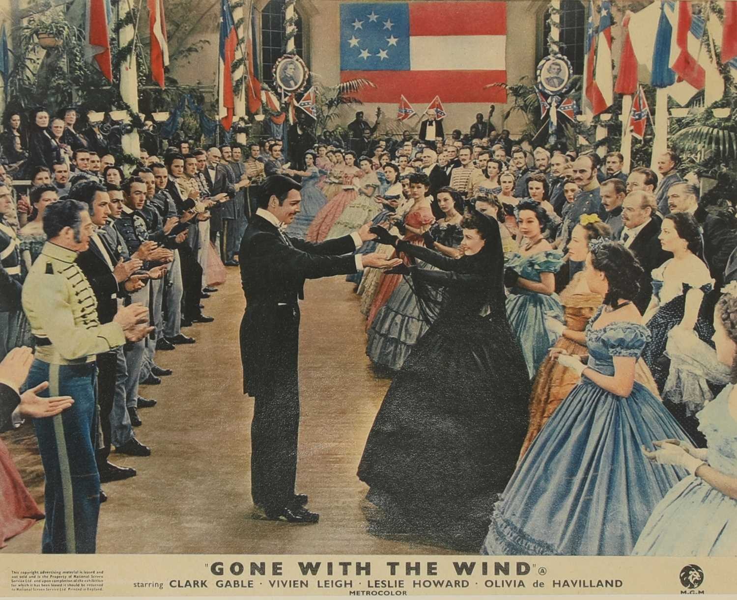 Four studio cards from 'Gone With the Wind', - Image 3 of 12
