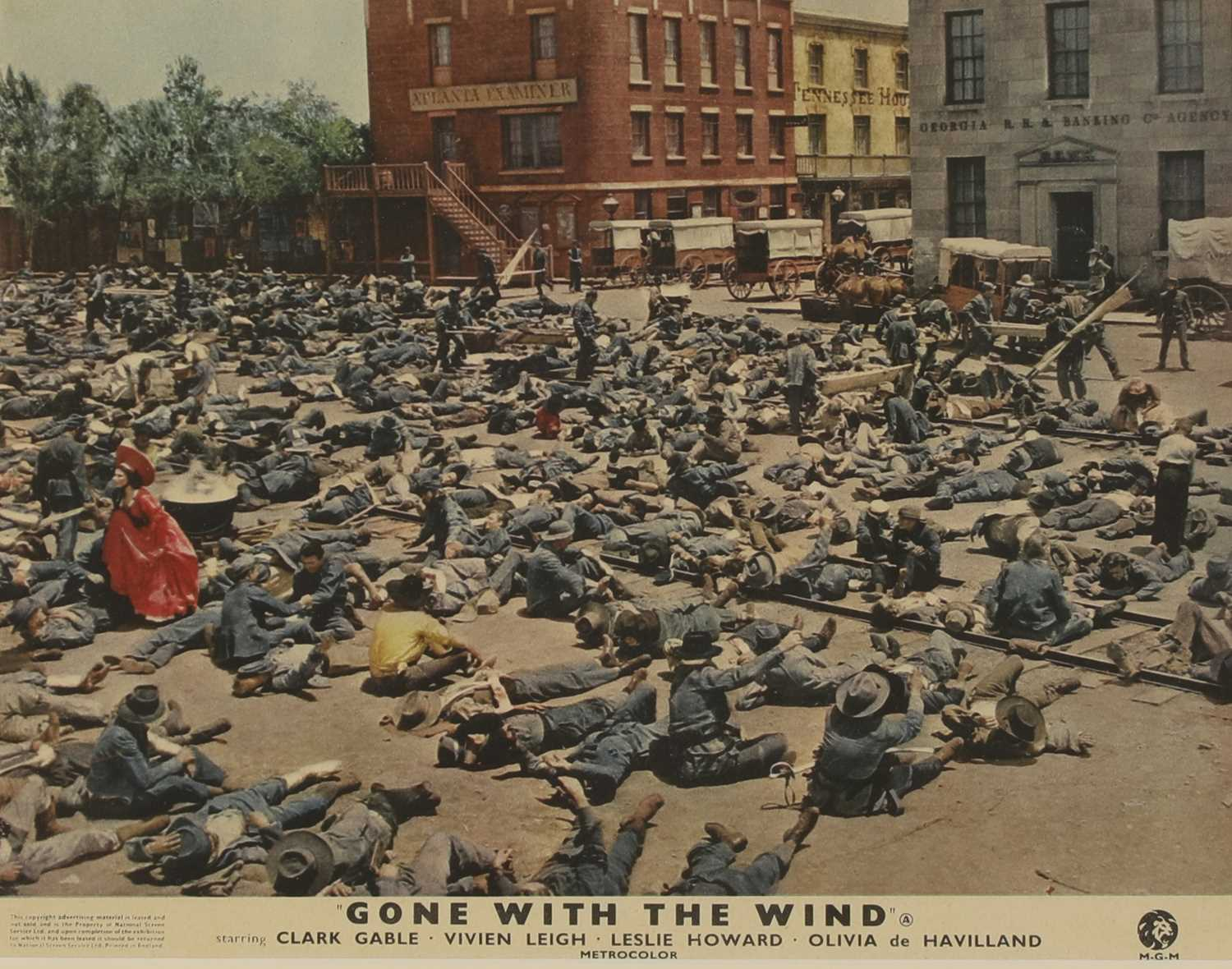 Four studio cards from 'Gone With the Wind', - Image 2 of 12