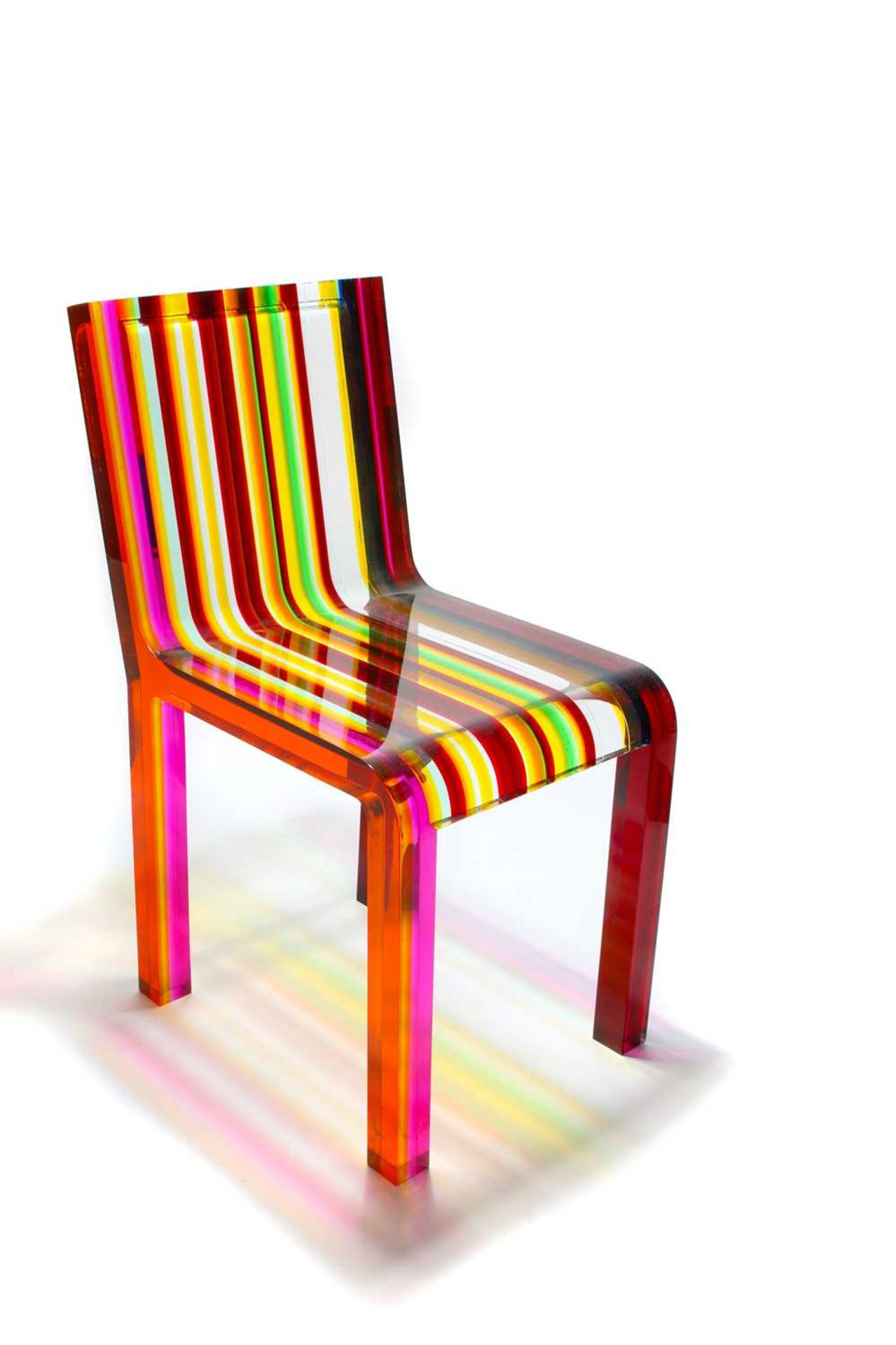 A 'Rainbow Chair', - Image 2 of 15