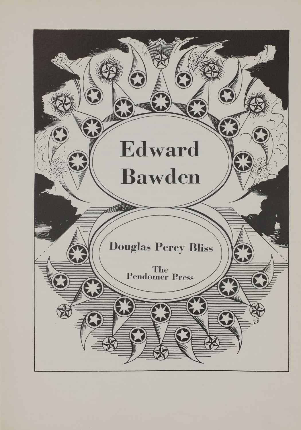 'Edward Bawden' by Douglas Percy Bliss, - Image 3 of 5