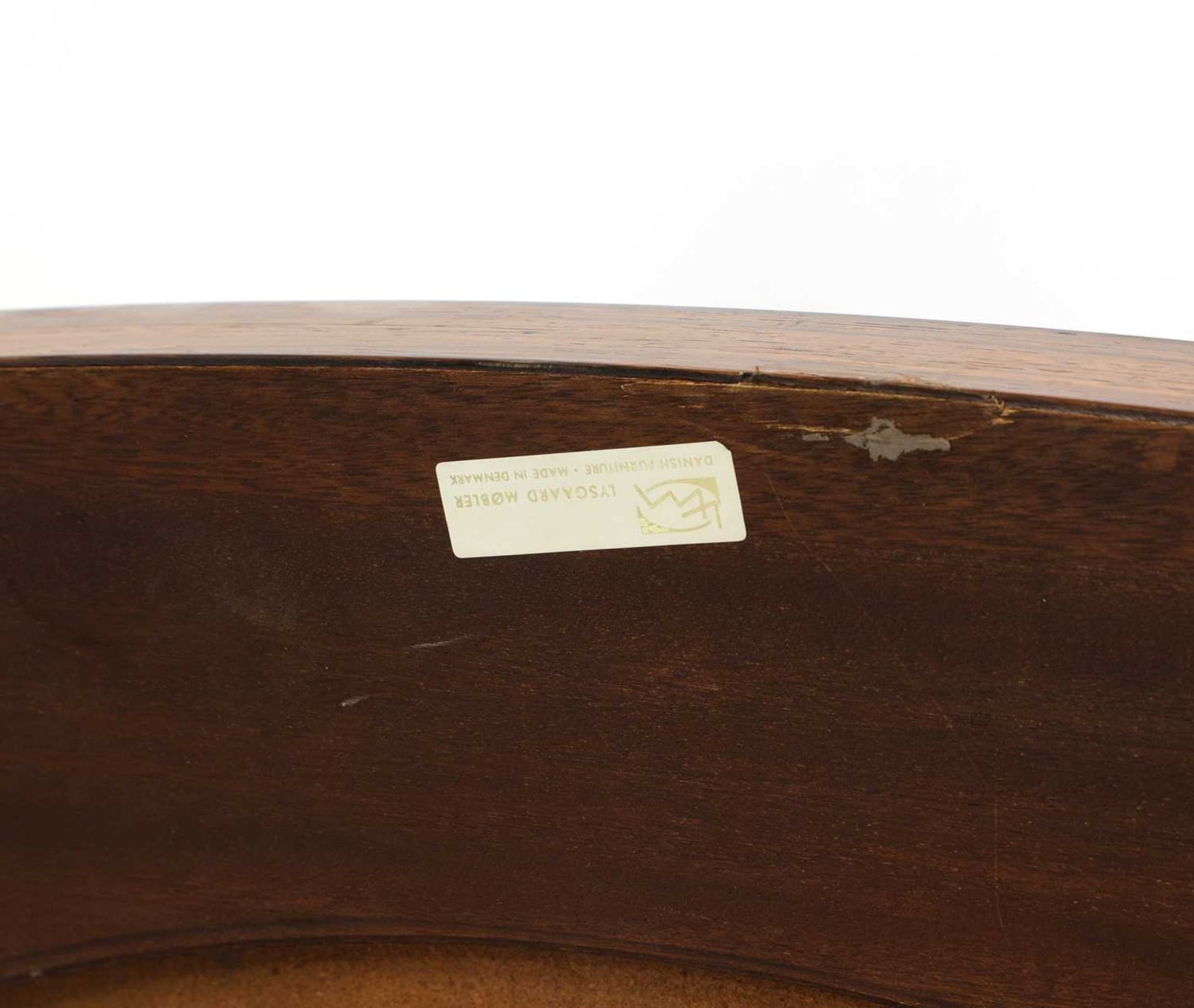A Danish rosewood brutalist coffee table, § - Image 3 of 4