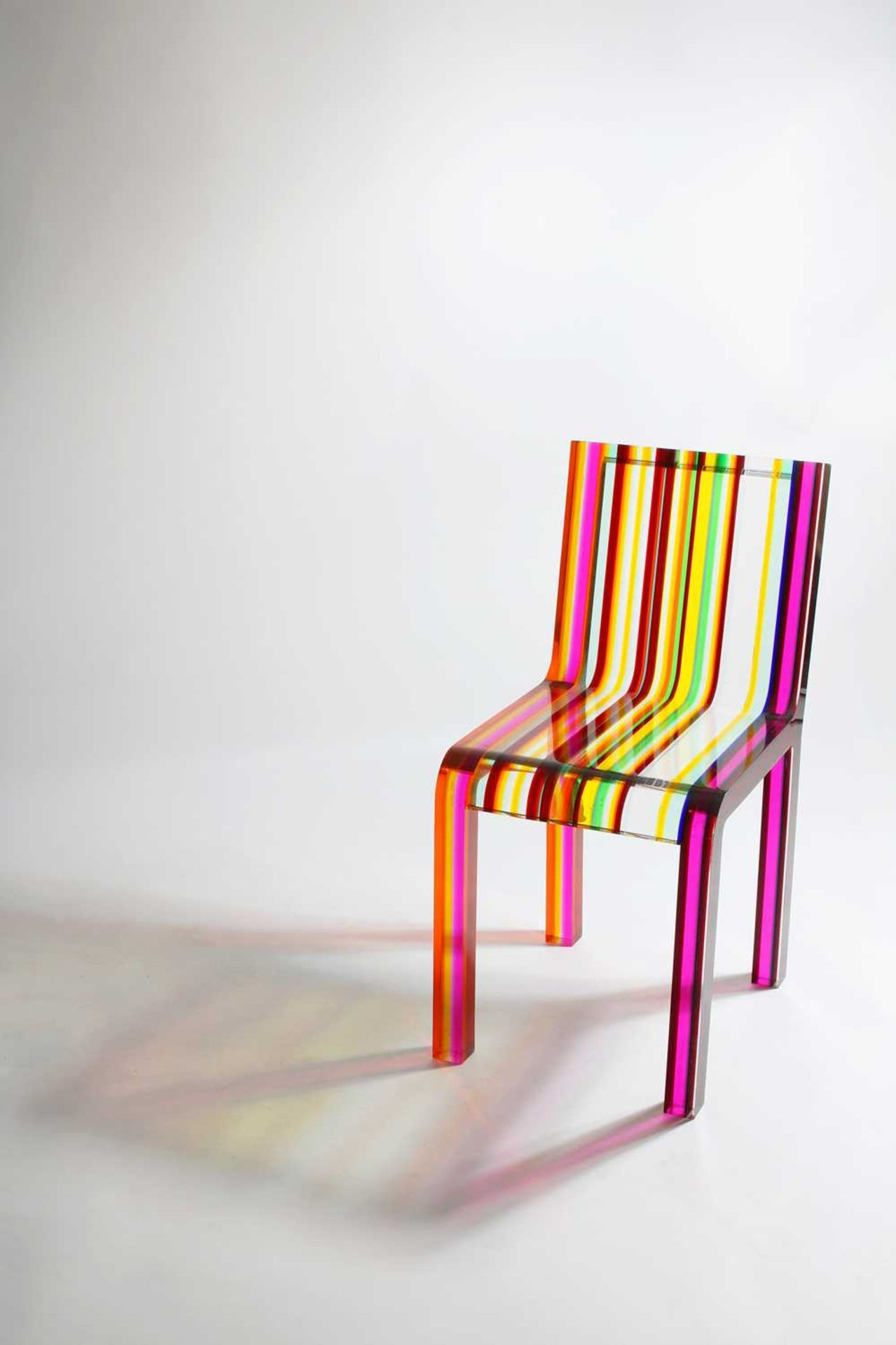 A 'Rainbow Chair', - Image 3 of 15