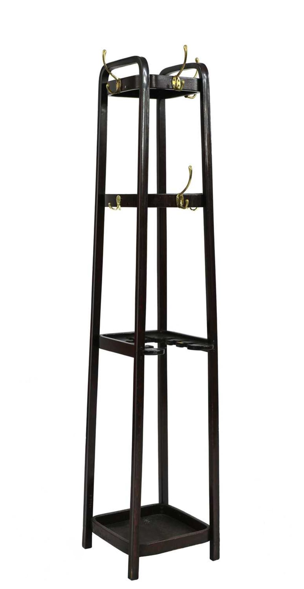 A Thonet coat stand, - Image 3 of 3