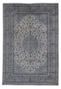 A Persian Kashan carpet,