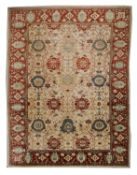 A large Persian Ziegler Sultanabad carpet,