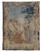 A large Brussels tapestry,