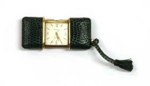 A Teriam 'Teriamatic' mechanical purse watch, c.1955,