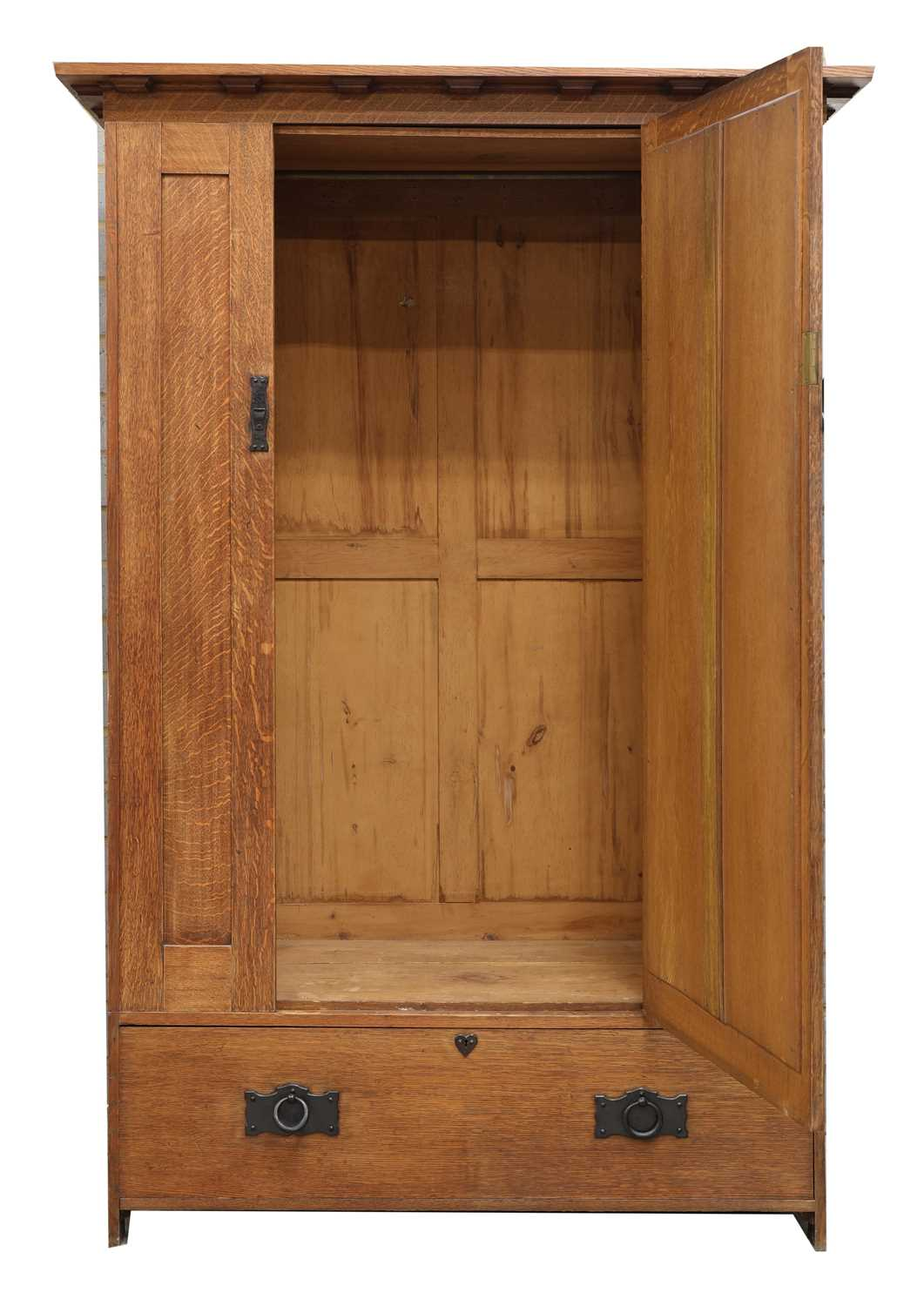A Heal and Son oak wardrobe, - Image 2 of 4