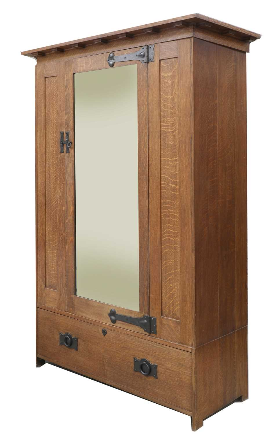 A Heal and Son oak wardrobe, - Image 3 of 4
