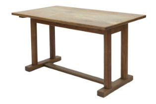 A Gordon Russell oak dining table,