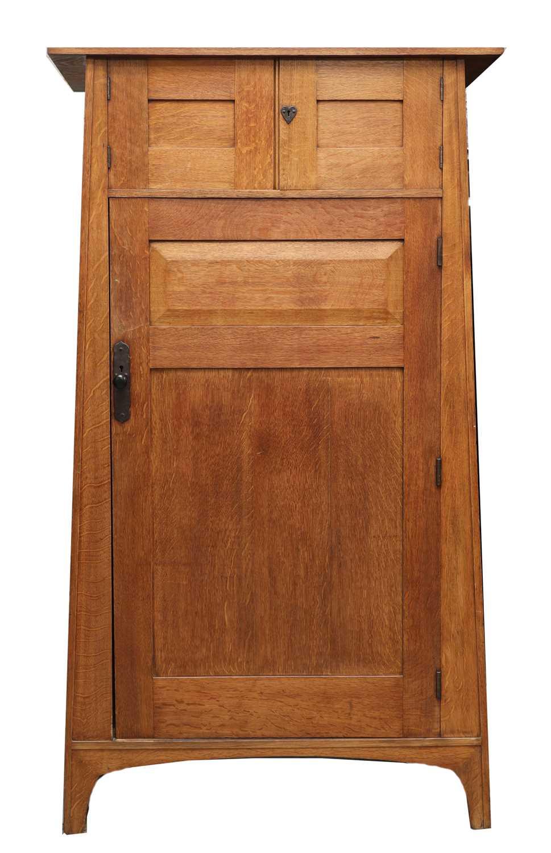 A Heal and Son oak wardrobe,