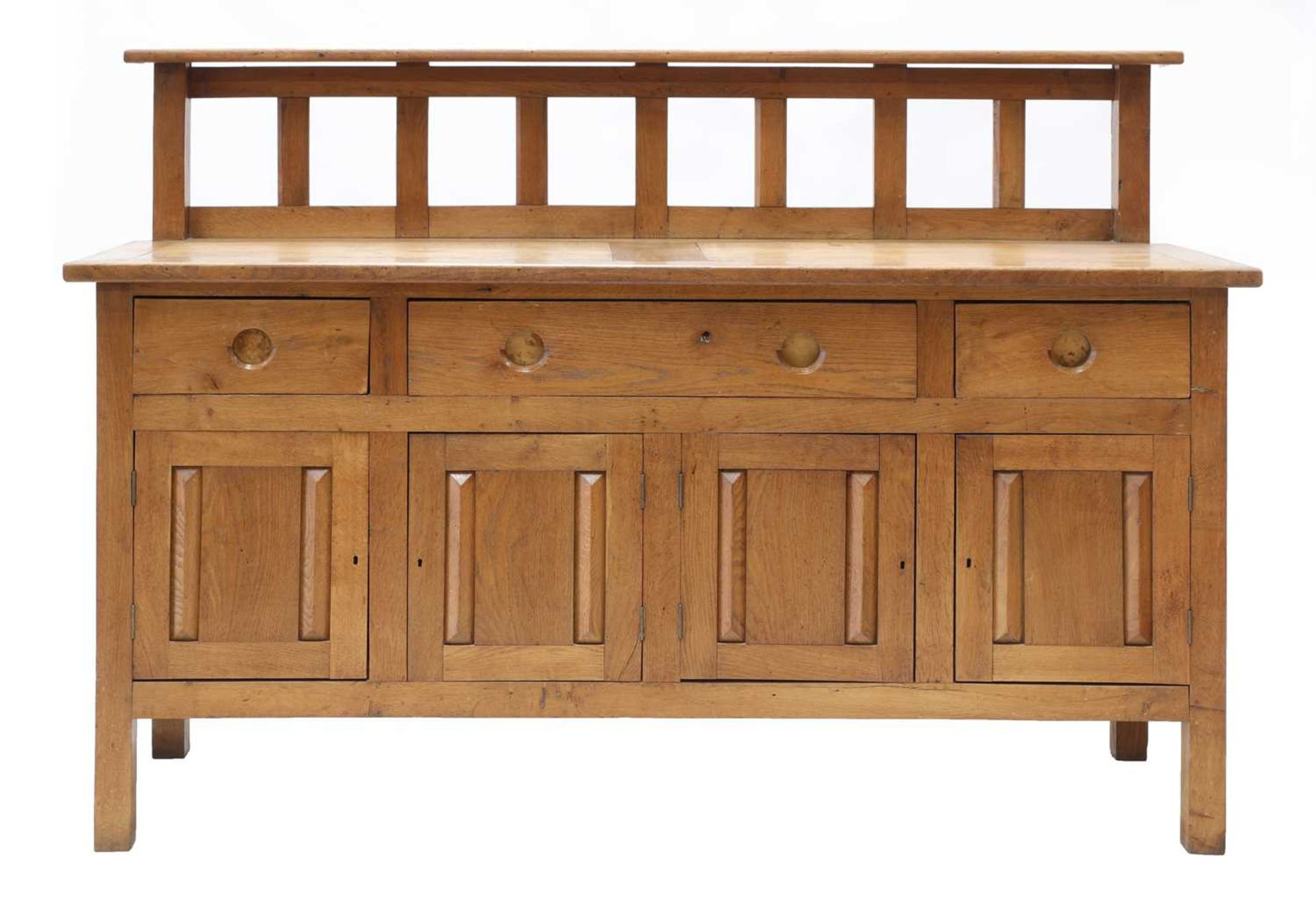 An oak sideboard, - Image 2 of 4