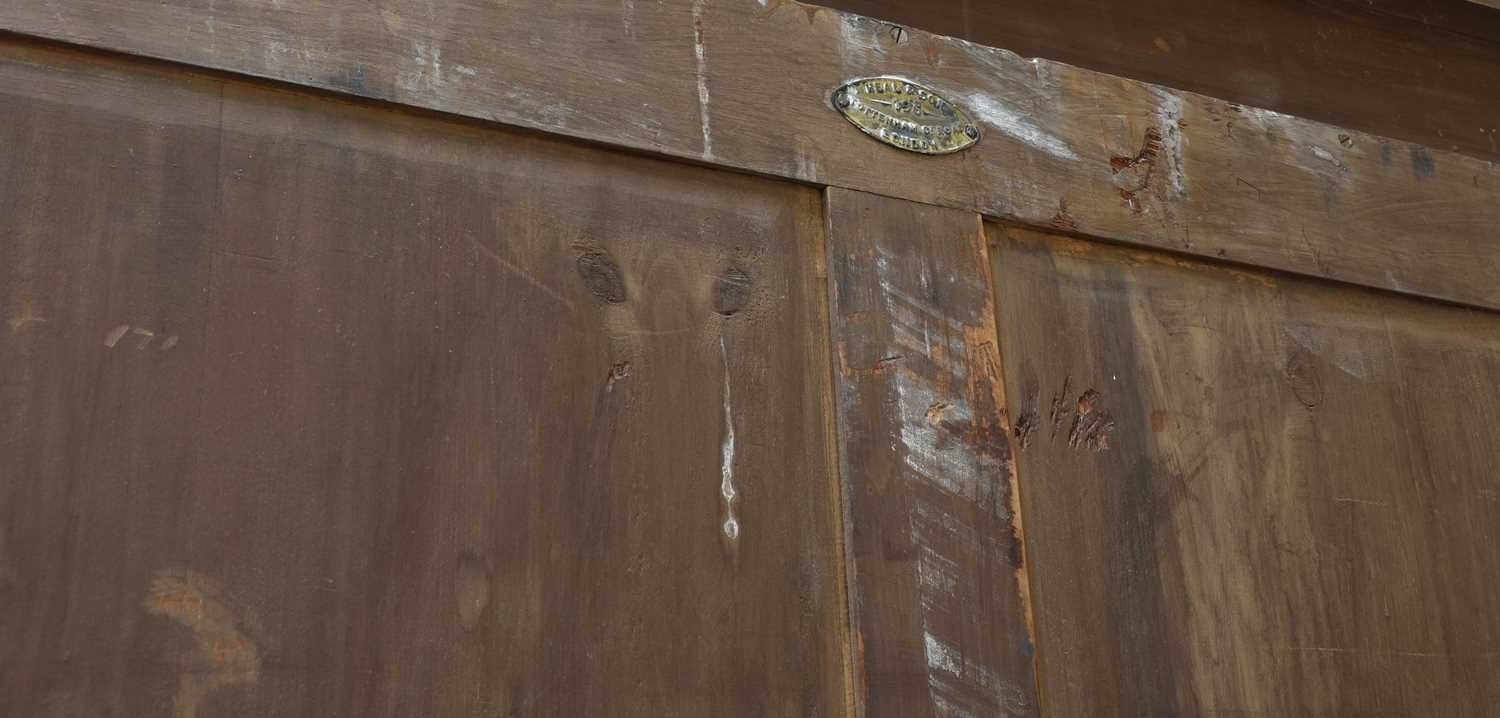 A Heal and Son oak wardrobe, - Image 4 of 4