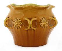 A Linthorpe Pottery jardinière,