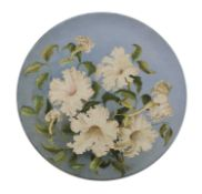 A South Kensington pottery charger,