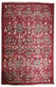 A carpet,
