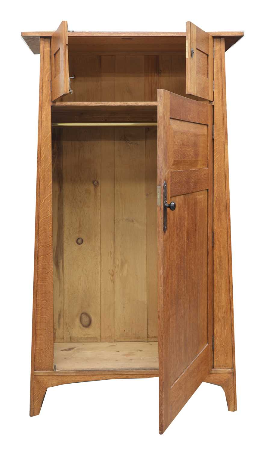A Heal and Son oak wardrobe, - Image 2 of 7